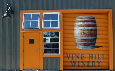 Vine Hill's new tasting room