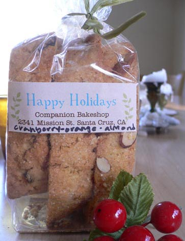 Holiday Biscotti for even the Notti